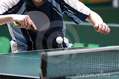 Table tennis returning