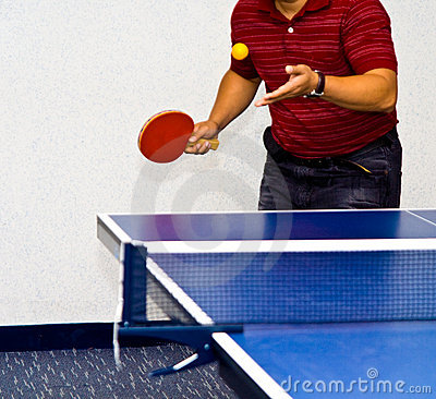 Table Tennis  Service