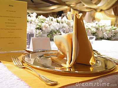 Table wedding Setting