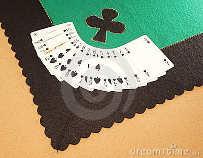 Tablecloth Gaming spades