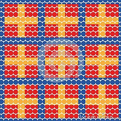 Tablecloth seamless
