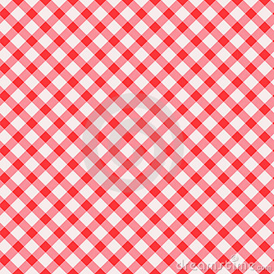 Tablecloth seamless background. Vector.