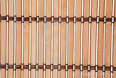 Tablecloth vertical bamboo slats