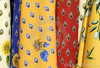 Tablecloths from France