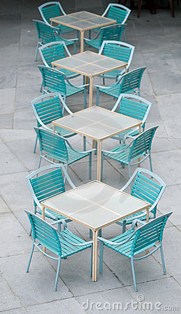 Free Tables And Chairs Stock Photo - 4883320