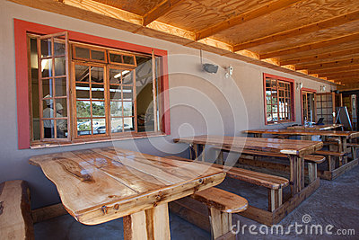 Tables Chefs School Restaurant Editorial Stock Photo