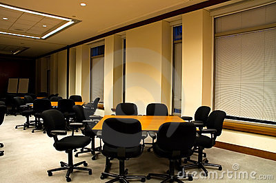 Tables in Conference Room