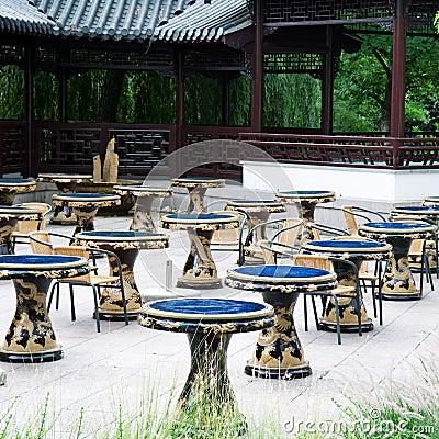 Tables for tea