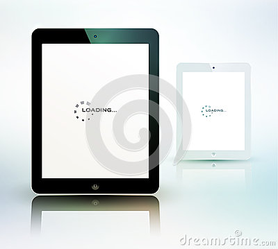 Tablet computer set