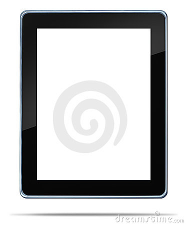 Free Tablet Computer With Blank Area Royalty Free Stock Images - 22173329