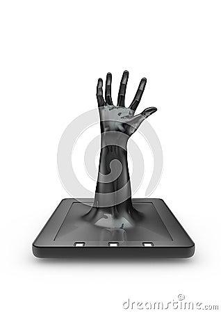 Tablet grab