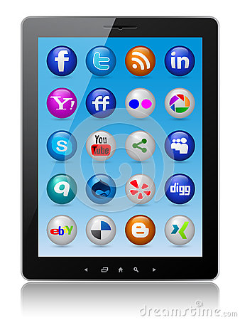 Tablet pc Editorial Stock Image