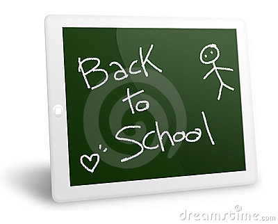 Tablet pc back to school