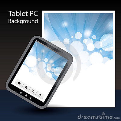 Tablet PC Background