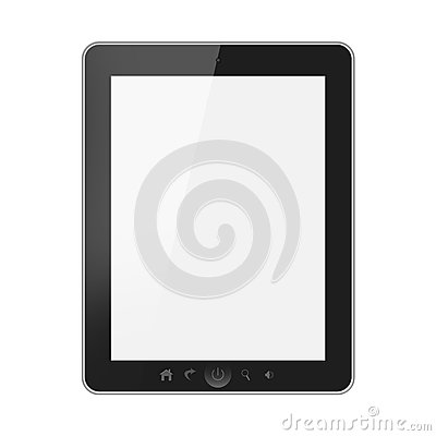 Tablet pc with blank screen