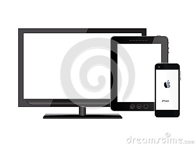 Tablet pc, mobile phone and tv