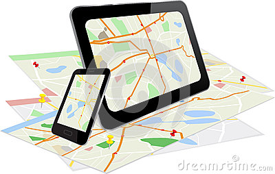 Tablet PC and Smart Phone with navigation system