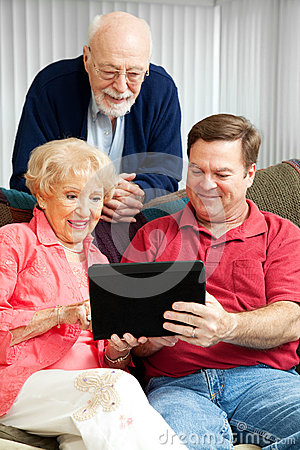 Tablet PC - Teaching Senior Parents