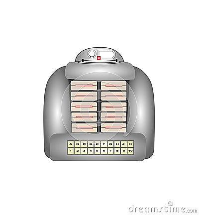 Tabletop Jukebox Stock Image - Image: 36259301