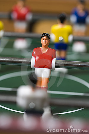 Free Tabletop Soccer Royalty Free Stock Images - 15516979