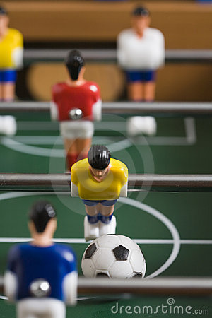 Free Tabletop Soccer Royalty Free Stock Image - 15517396