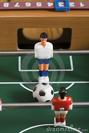 Free Tabletop Soccer Royalty Free Stock Photography - 15517417