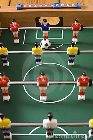 Free Tabletop Soccer Stock Photos - 15517613