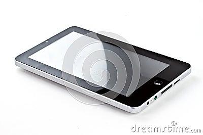 Tablette d écran tactile Image stock éditorial