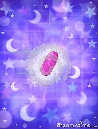 Tablette de sommeil de pillule