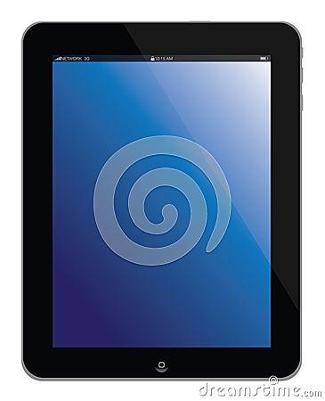 Tablette neuve d ordinateur portatif de l iPad 4 d Apple Photographie éditorial