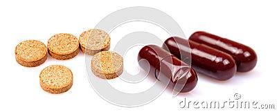 Tablettes et capsules