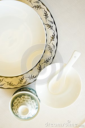 The tableware  in china