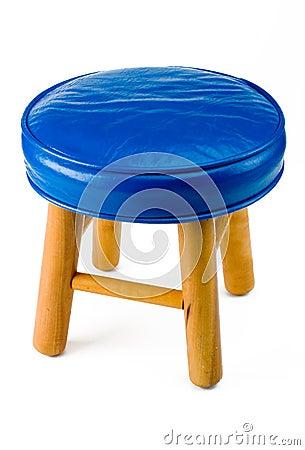 tabouret bleu photos libres de droits image 868778. Black Bedroom Furniture Sets. Home Design Ideas
