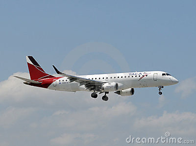 TACA airline passenger jet Editorial Photography
