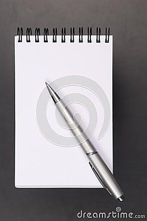 Taccuino e matita