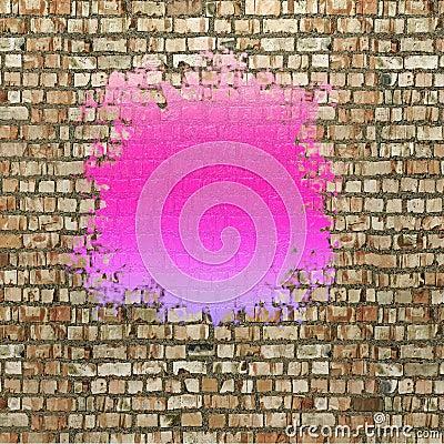 Tache de la peinture violette illustration stock image for Peinture violette