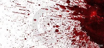 tache de sang rouge sur le blanc illustration stock illustration du liquide grunge 37775547. Black Bedroom Furniture Sets. Home Design Ideas