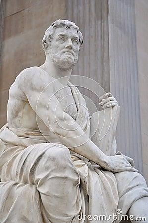 Tacitus sculpture in vienna