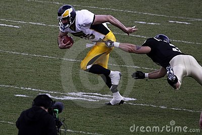 Tackle in american football Editorial Stock Image