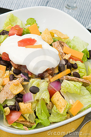 Free Taco Salad Stock Photos - 10825203
