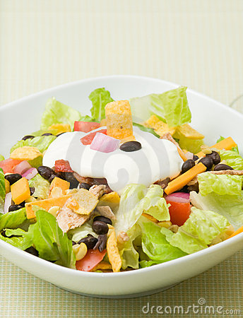 Free Taco Salad Royalty Free Stock Image - 10825216