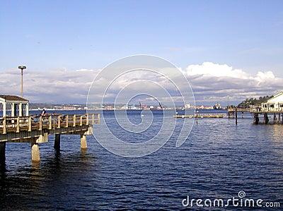 Tacoma-Ufergegend