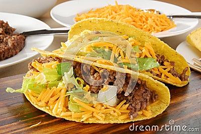 Tacos close up