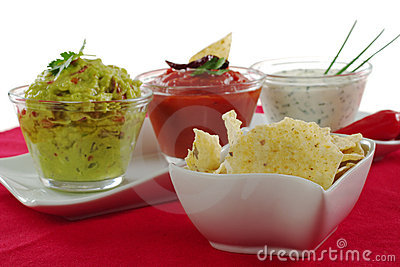 Tacos with Dips