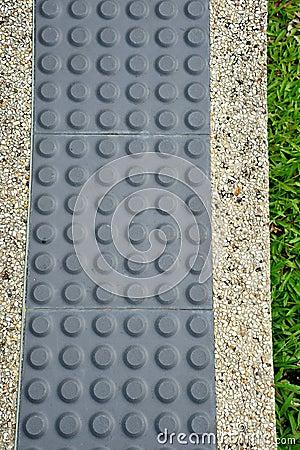 Tactile Paving For Blind Handicap
