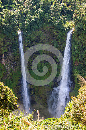 Free Tad Fan Waterfall Royalty Free Stock Photos - 40058948
