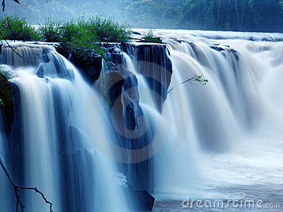 Tad-Pa Suam waterfall