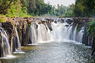 Водопад Tad Pha Souam