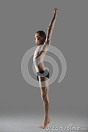 tadasana yoga pose stock photo  image 59068167