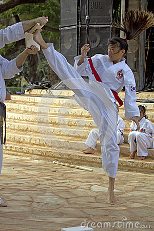 Tae Kwon Do Editorial Image